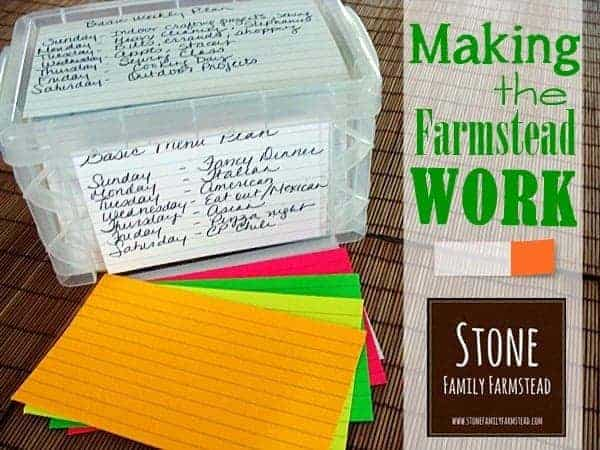Making the Farmstead Work - Stone Family Farmstead