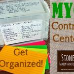 Get Organized! MYO Control Center for Your Farmstead