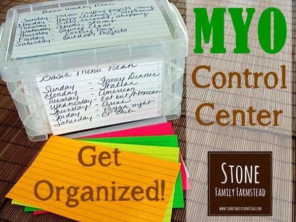 MYO Control Center - Stone Family Farmstead