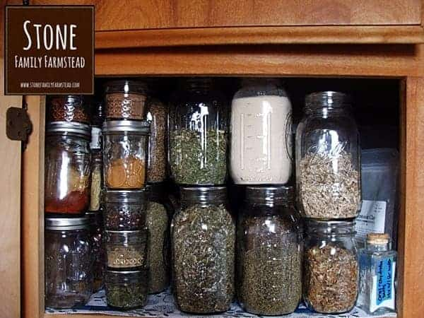 Organizing and Storing Your Herbs 3 - Stone Family Farmstead