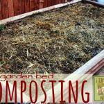 Garden Bed Composting