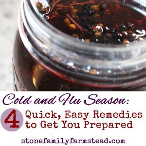 cold and flu season remedies
