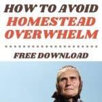 Avoid Homestead Overwhelm with These Ideas - Stone Family Farmstead