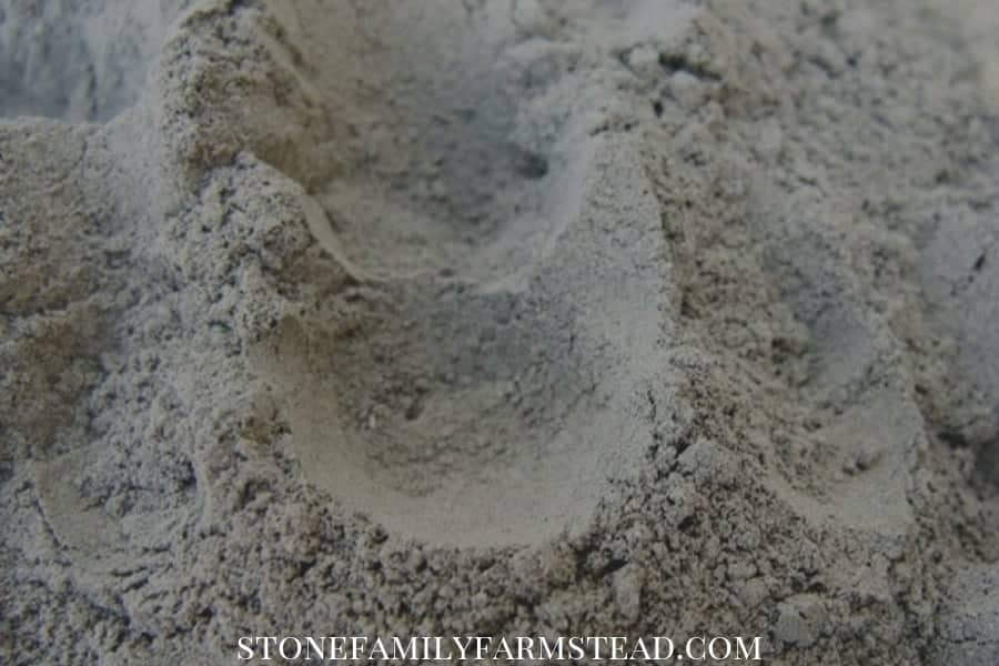 Codex grade diatomaceous earth is mixed with clay - How to Use Diatomaceous Earth in the Garden - Stone Family Farmstead