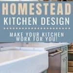 Homestead Kitchen Design Ideas - Stone Family Farmstead