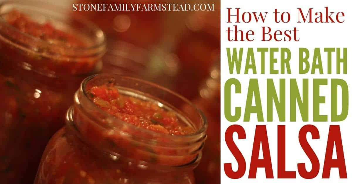 salsa in a jar, salsa recipe for canning